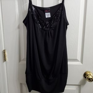 Torrid plus size sequence banded waist tank top